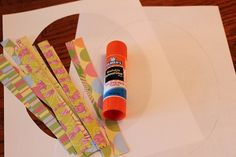 Paper Strip Easter Eggs ; Our Crafts ~N~ Things