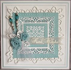 PartiCraft (Participate In Craft) NY collection, classic rose Hand Made Greeting Cards, Making Greeting Cards, Tattered Lace Cards, Spellbinders Cards, Beautiful Handmade Cards, Shabby, Pretty Cards, Creative Cards, Homemade Cards