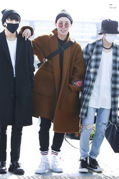 #BTS (#Jungkook, #J-Hope, #Suga) Airport Style