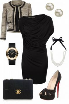 Classy with Chanel! styled on Fantasy Shopper #fashion #style