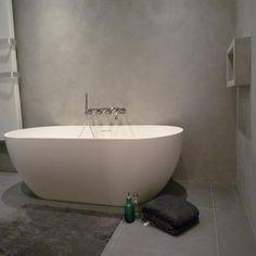 betoncire badkamer afwerking amstelveen