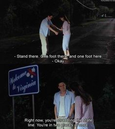 a walk to remember why is he so perfect. It's in his eyes too. Every time he looks at her.