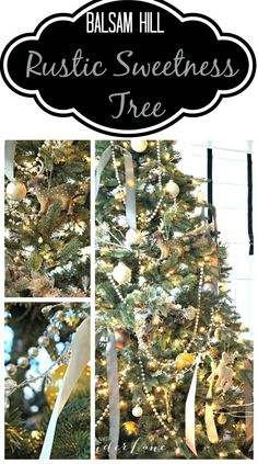 Rustic Sweetness Christmas Tree: Seeking Lavender Lane on Balsam Hill's Durango Douglas Fir Tree.