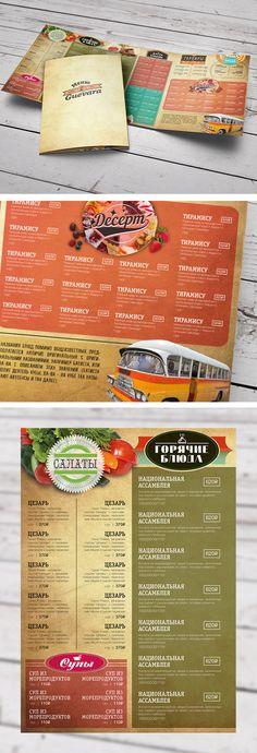 Шаблоны для меню клуба «Guevara» Café Bar, Bar Menu, Menu Design, Food Design, Restaurant Promotions, Adobe Indesign, Barbacoa, Event Ideas, Food Menu