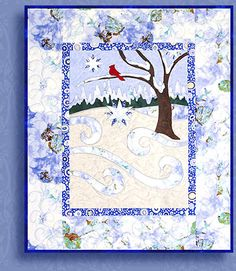 fresh snow by Quilt Poetry