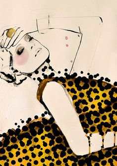 Leigh Viner - Fashion Illustrations by Leigh Viner