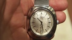 Citizen Leopard 36,000 bph.   It was manufactured in August of 1970.  4-720865.   Wonder if the crystal can be saved?
