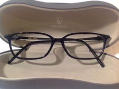 79ba833327e9 Designer Eyewear Vera Wang Titanium Black Eyeglasses frames glasses optical   VeraWang  eyeglasses  fashion  style  ImACeleb