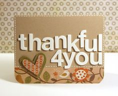 15 creative ideas to show gratitude for those kind people in your life! Create thank you gift ideas including: free printable gift card holders, tags, and more! Cute Thank You Cards, Thank You Gifts, Cute Cards, Diy Cards, Your Cards, Homemade Gifts, Homemade Cards, Diy Gifts, Printable Gift Cards