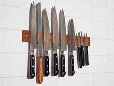New kitchen gadgets storage knives 42 Ideas New Kitchen Gadgets, Kitchen Items, Kitchen Hacks, Kitchen Knives, Kitchen Storage, Kitchen Utensils, Kitchen Things, Kitchen Photos, Cooking Utensils