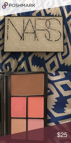 NARS virtual domination cheek palette Limited edition! No longer available! Includes blushes: miss liberty, deepthroat, final cut, and sex fantasy. Bronzer is color laguna NARS Makeup
