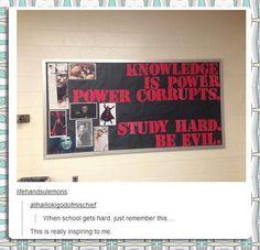 study hard, be evil    Tumblr Gets Deep (22 Pics) | Pleated-Jeans.com#more-88797