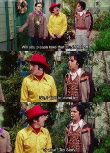 funny big bang theory scene
