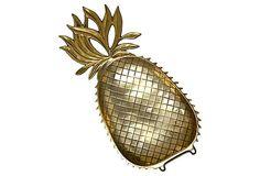 Brass Pineapple Tray on OneKingsLane.com $199