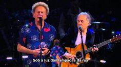 Simon & Garfunkel - The Sound of Silence (Live HD) Tradução em PT-BR