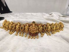 Traditional & Temple Adult Waist Belt in Silver and Gold Oxidised Polish - Adjustable - Indian Fashion and Wedding Jewelry Antique Jewellery Designs, Antique Jewelry, Jewelry Design, Sterling Silver Jewelry, Gold Jewelry, Wedding Jewelry, Gold Necklace, I Love Jewelry, Fine Jewelry