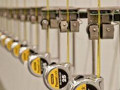 Part of the Recorders installation by Rafael Lozano-Hemmer. MCA, Sydney.