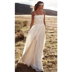 MARI BRIDAL GOWN Lurelly ❤ liked on Polyvore featuring dresses and wedding dresses