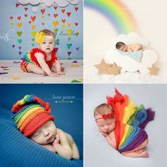 These Are the Sweetest Rainbow Baby Photo Ideas You've Ever Seen