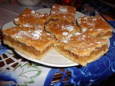 Fotorecept: Krehké jablkové rezy - Recept pre každého kuchára, množstvo receptov pre pečenie a varenie. Recepty pre chutný život. Slovenské jedlá a medzinárodná kuchyňa