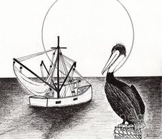Pelican Fishing Paradise C1 by Ricardos Creations