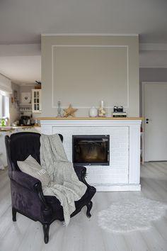Fireplace Wall, Wall Decor, Blog, Diy, Home Decor, Wall Hanging Decor, Decoration Home, Bricolage, Room Decor