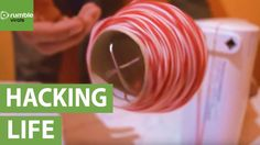 Here we have an incredibly simple life hack brought to you by 'BogoVideo'. Learn how you can wind up your roll of yarn in the fastest possible way. Source & ...