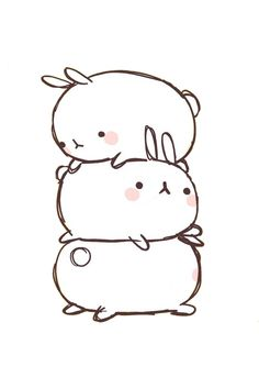 Molang by BubbleTeaAndCookies.deviantart.com on @deviantART
