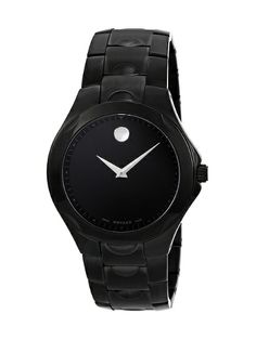 Men's Stainless Steel Analog Dial Watch