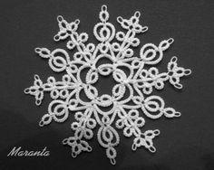 Star 1 by Maranta with free pattern diagram ....Moje schematy frywolitkowe ... *p*