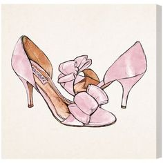 My Sweet Shoes — Oliver Gal Art