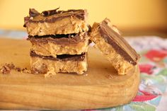 {no bake} Reese's Peanut Butter Bars