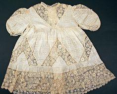 1905 child's cotton dress, European