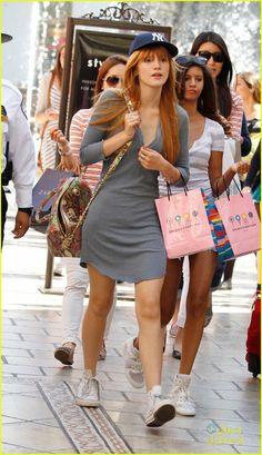 Bella Thorne's fashion sense is effortlessly chic