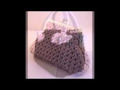 Realizzare una borsa in fettuccia all'uncinetto: 6 lezione il soffietto - YouTube
