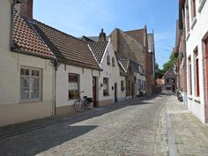 Authentic Street in Brugges