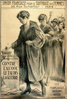 * Union Française pour le Suffrage des Femmes (vers 1920)