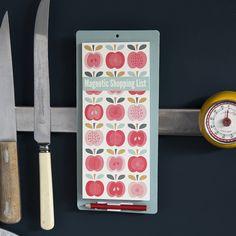 Vintage Apple Shopping List | dotcomgiftshop | Winter Sale Now On