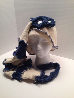 Sweater Hat, Recycled, Repurposed by 4DogCafe on Etsy