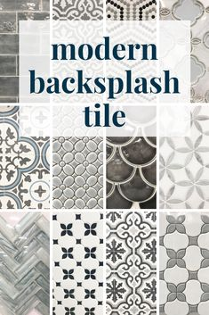 12 Gorgeous Options for Backsplash Tile
