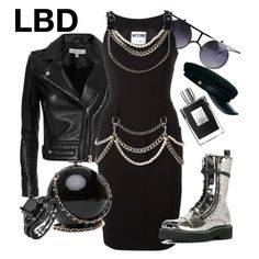 """""""LBD"""" by miha-jez ❤ liked on Polyvore featuring IRO, Moschino, Dolce&Gabbana and Emilio Pucci"""