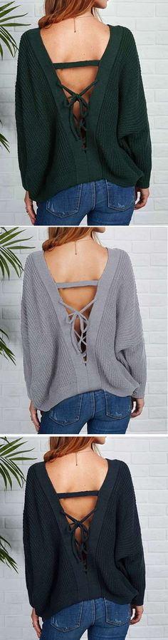 Easy your day with $26.99 & free shipping Now! This V-neck ribbed piece detailed with back lace-up gonna let you cozy in this Cupshe way! Go collect more at Cupshe.com