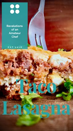 The Mexican Godfather: Taco Lasagna Spicy Recipes, Italian Recipes, Delicious Recipes, Oven Dishes, Pasta Dishes, Taco Lasagna, Mexican Street Food, Tomato Relish, Food Stall