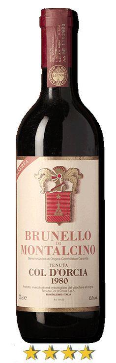 #Brunello di Montalcino Riserva 1980 #DOCG. Questo #vino sorprende per la grande freschezza che promette ulteriori capacità di sviluppo e conservazione. Alcool: 13,8% #wine #tuscany
