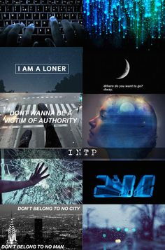 INTP aesthetic via our-brains-are-sick-but on tumblr.