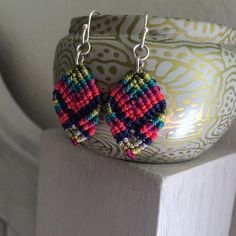 Shop Women's size OS Earrings at a discounted price at Poshmark. Description: Colorful knotted earrings made by, yours truly!. Sold by jbanana123. Fast delivery, full service customer support.