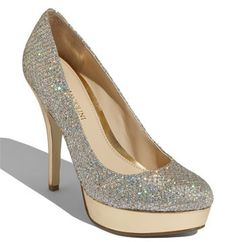 Glitter Shoe Love! The newest darlings to my shoe collection, They glitter so hard...