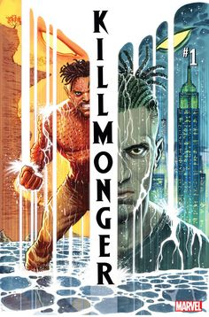 Collects Killmonger brutal tale of a man who will stop at nothing…for freedom! One day, years from now, Erik Killmonger will rise up and attempt to steal the throne of Wakanda — the throne he believes he is owed. But long before he became . Black Panther Villain, Black Panther Art, Black Art, Marvel Comics, Fun Comics, Marvel News, Marvel Villains, Marvel Fan, Comic Book Covers