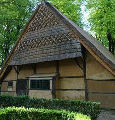 Kleine Twentse boerderij uit Beuningen (Ov), overgebracht naar het Nederlands Openluchtmuseum