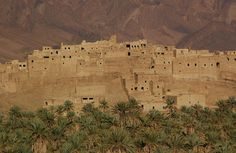 Mellah of Tazart....Karl Gerber of Los Angeles visited Morocco in 2007, venturing off the beaten path to explore Mellah of Tazart, a ghost town about 250 miles south of Marrakesh. The town was abandoned after the region dried up.